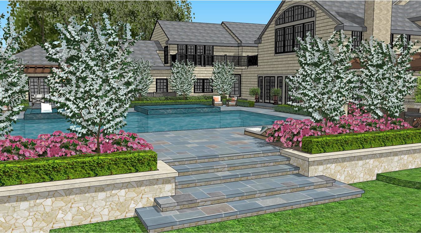 Contemporary pool design gallery of given pool designs llc for Pool design kansas city