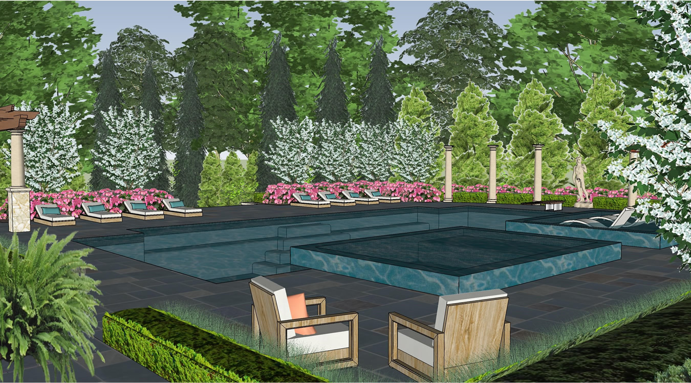 Contemporary Pool Design Gallery of Given Pool Designs LLC ...