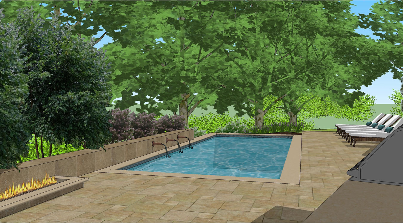 Mediterranean Pool Design Gallery Of Given Pool Designs LLC Kansas City  Swimming Pool Design