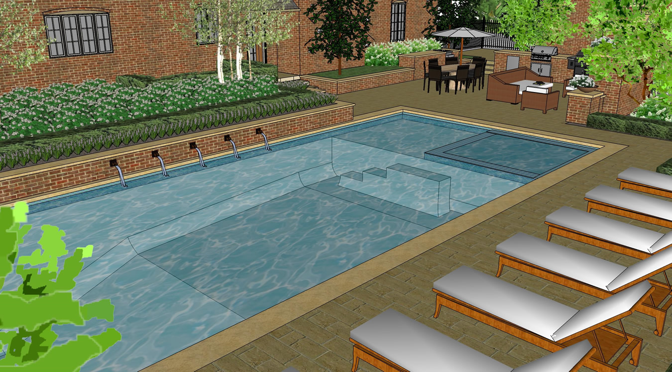 Pool Terrace Pool Design Gallery Of Given Pool Designs Llc Kansas City Swimming Pool Design