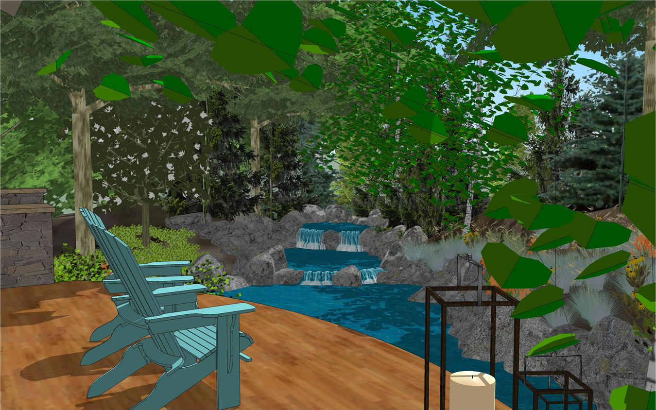 treehouse pool design gallery of given pool designs llc kansas city swimming pool design - Swimming Pool Designs Galleries